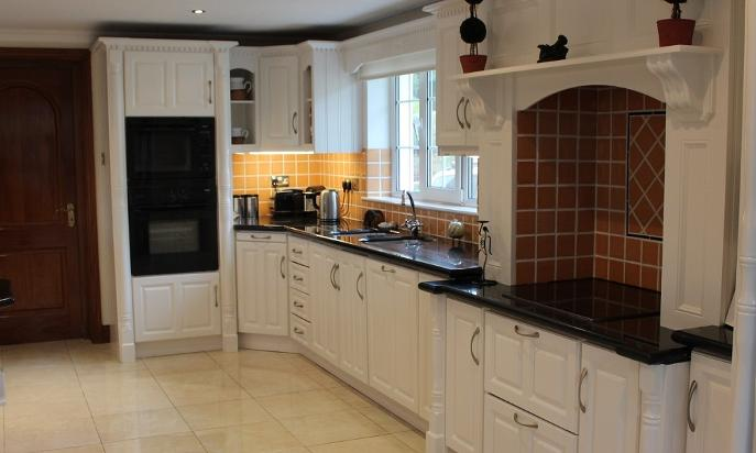 Kitchen, hand painted, Clonakilty