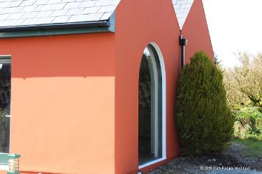 House Painters Cork Cottage red